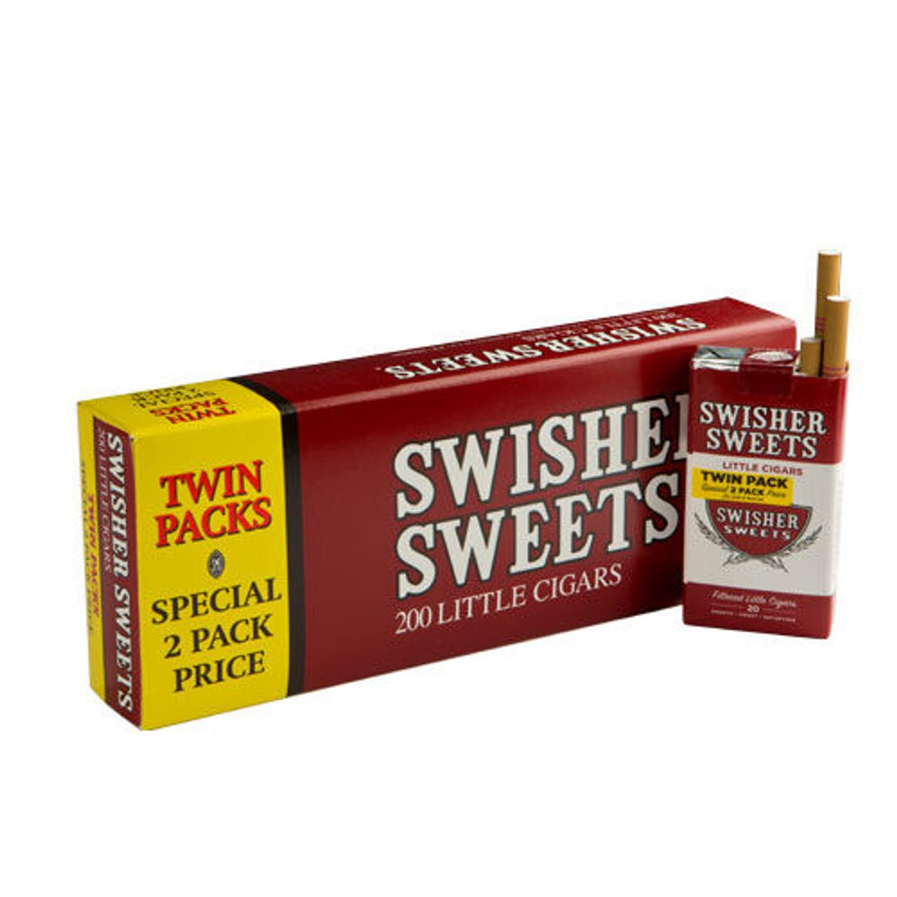 Swisher Sweets Little Cigars Regular - 3.75 x 24 (5 Packs of 40 (200 Total))