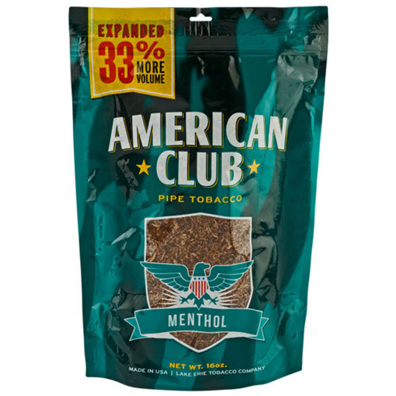 American Club Green | 16 Oz. Bag
