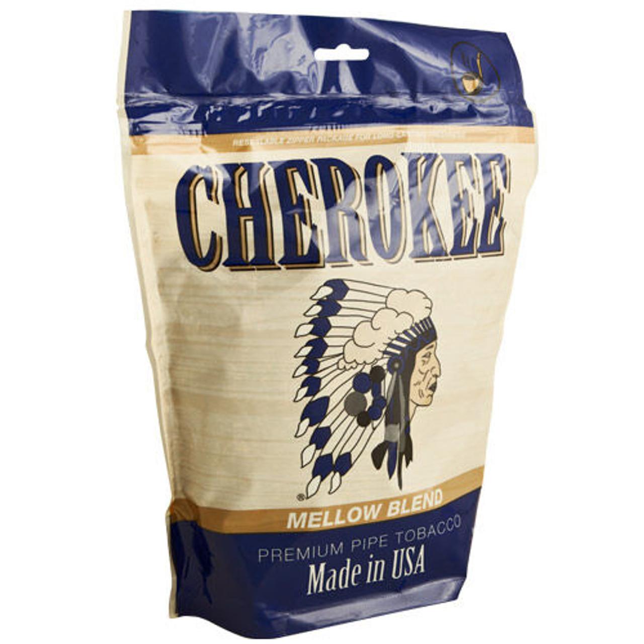 Cherokee Fine-Cut Tobacco Mellow | 16 Oz. Bag