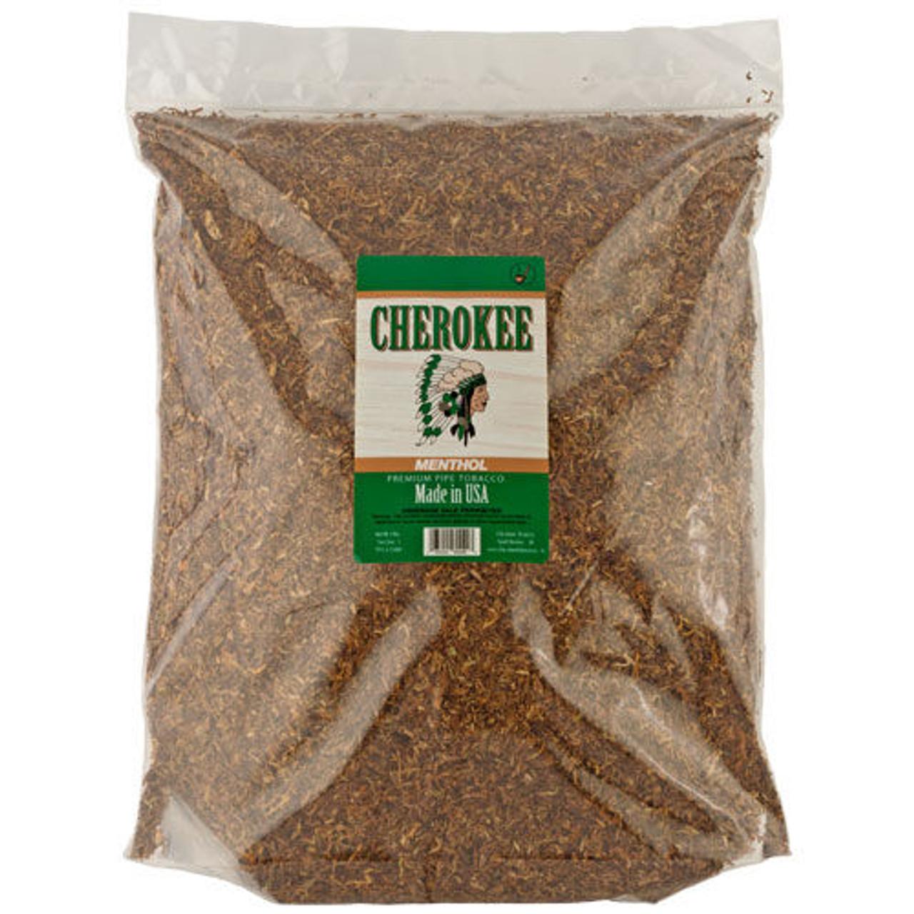 Cherokee Fine-Cut Tobacco Menthol   5 Lb. Bag