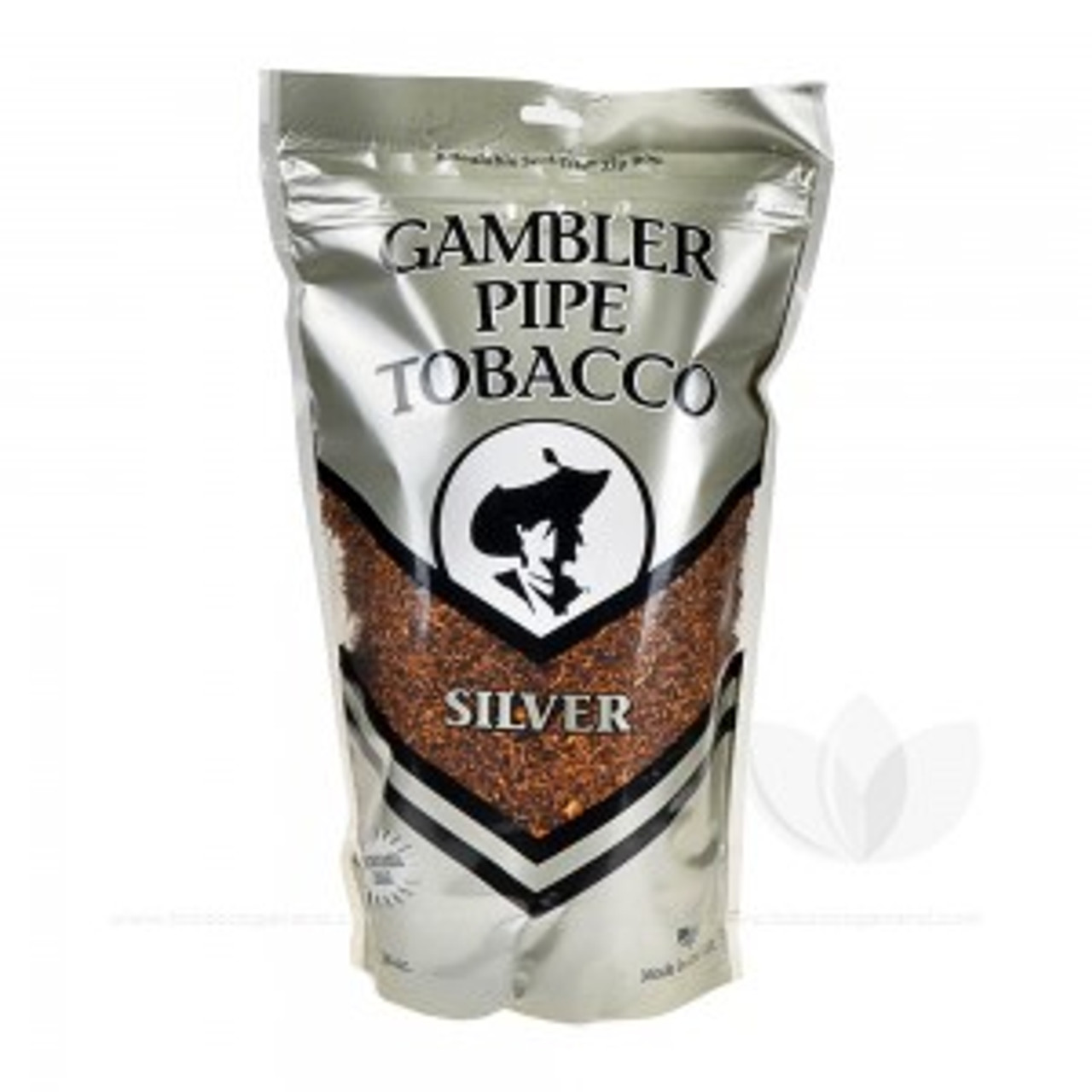 Gambler Silver Pipe Tobacco | 16 Oz. Bag