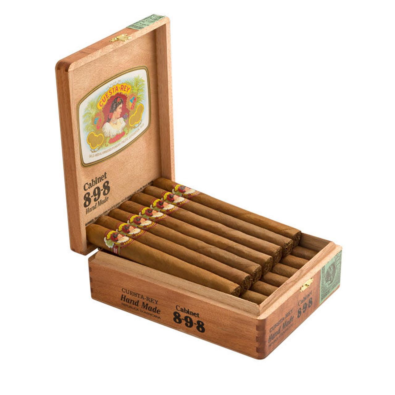 Cuesta Rey Cabinet No. 8-9-8 Cigars - 7 x 49 (Box of 20)