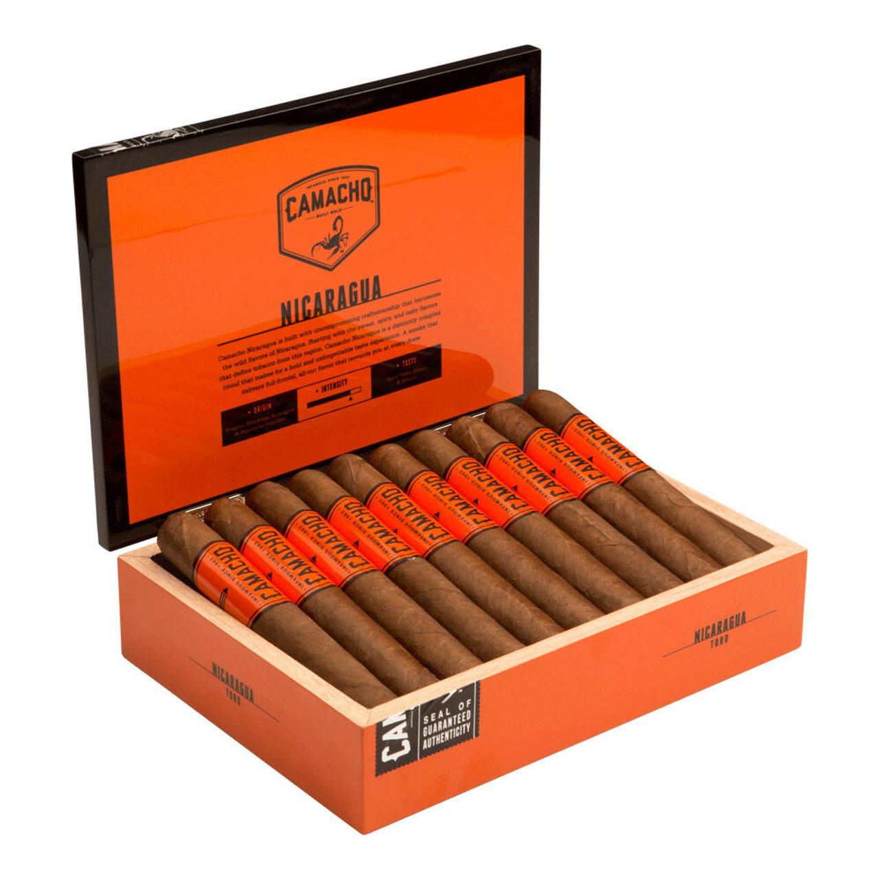 Camacho Nicaragua Toro Cigars - 6.0 x 60 (Box of 20)