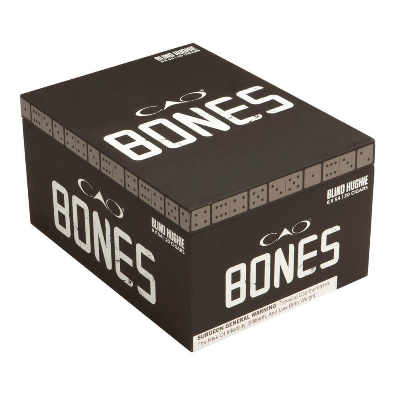 CAO Bones Blind Hughie Toro Cigars - 6.0 x 54 (Box of 20)