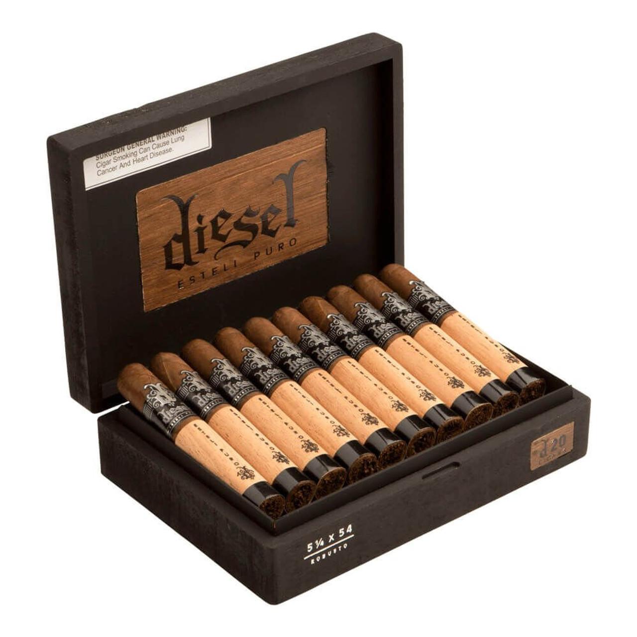 Diesel Esteli Puro Robusto Cigars - 5.25 x 54 (Box of 20)