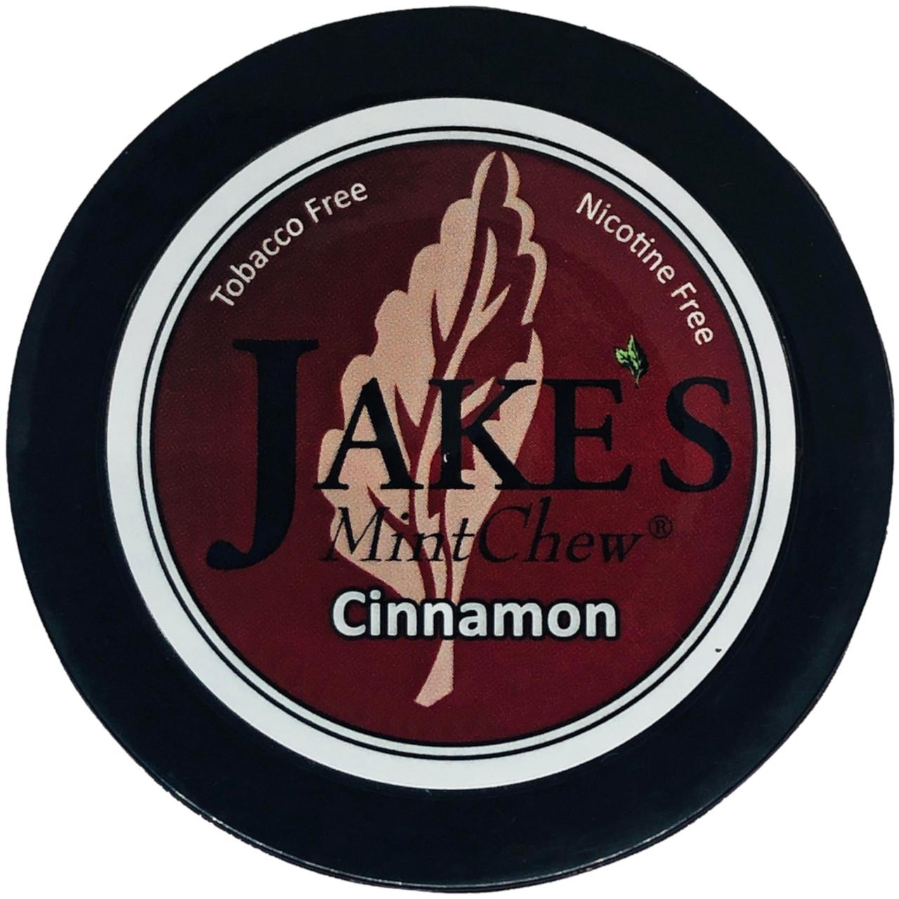 Jake's Mint Herbal Chew Cinnamon 1 Can