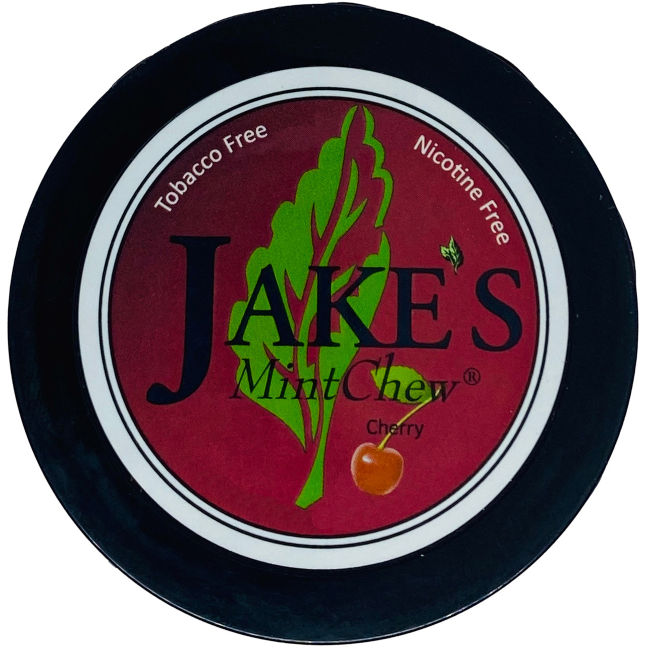Jake's Mint Herbal Chew Cherry 1 Can