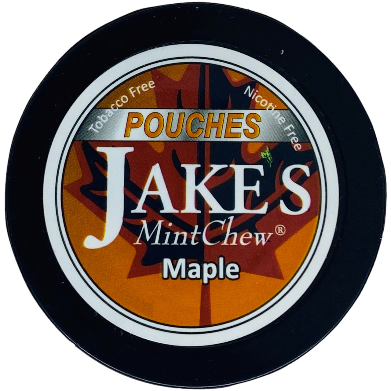 Jake's Mint Herbal Chew Pouches Maple 1 Can