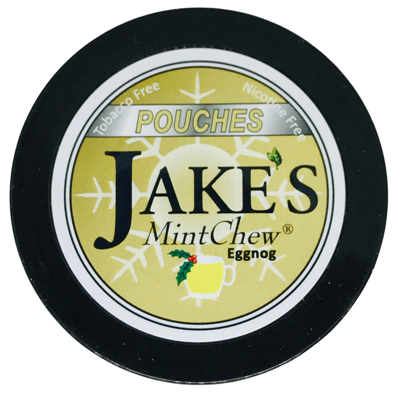 Jake's Mint Herbal Chew Pouches Eggnog 1 Can