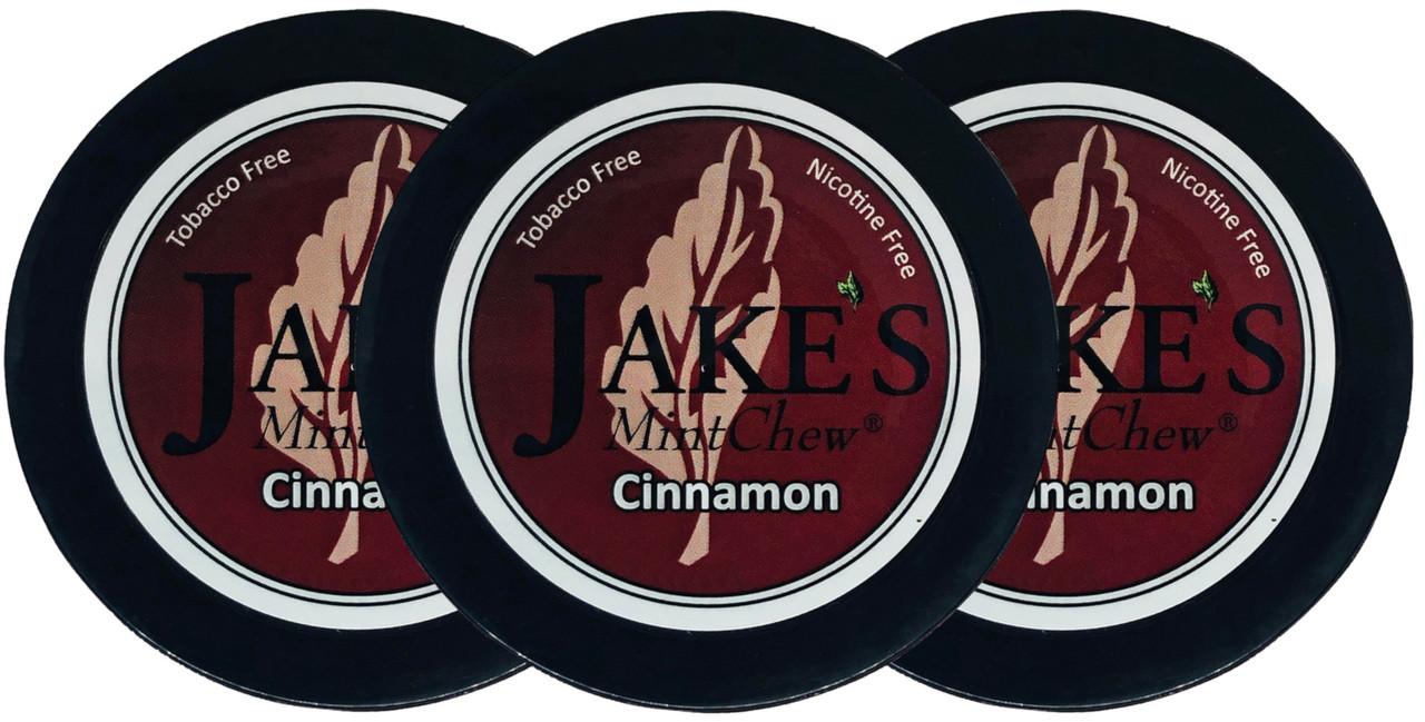 Jake's Mint Herbal Chew Cinnamon 3 Cans