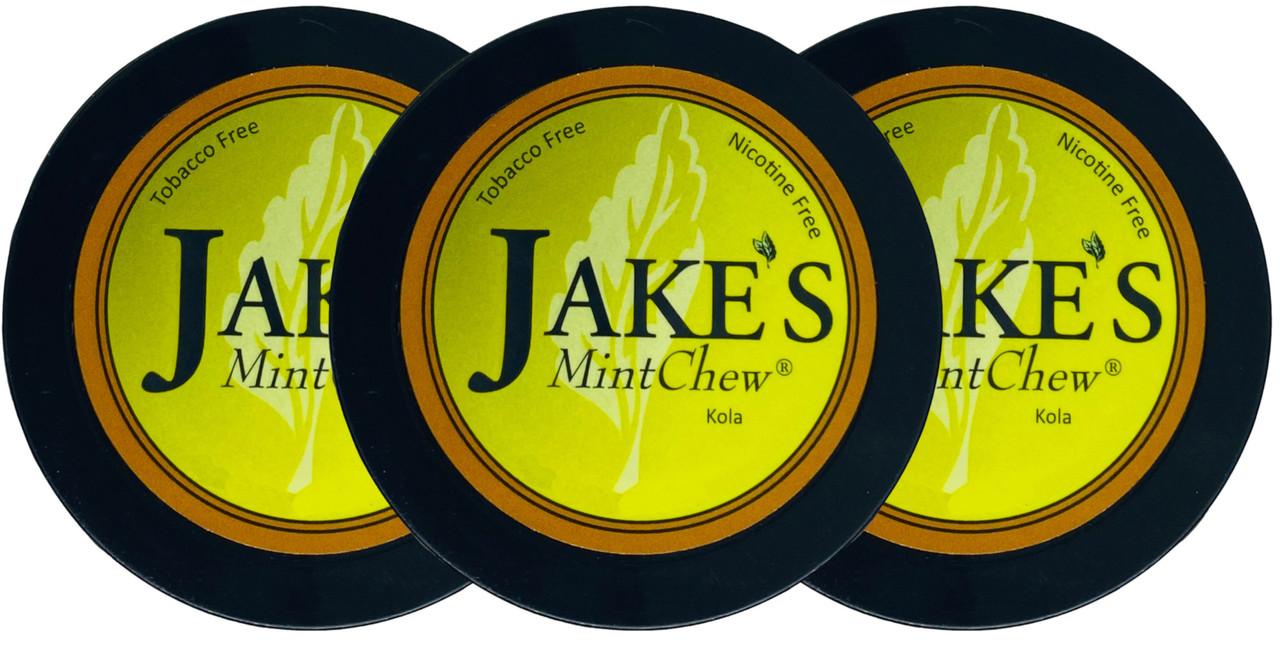 Jake's Mint Herbal Chew Kola 3 Cans
