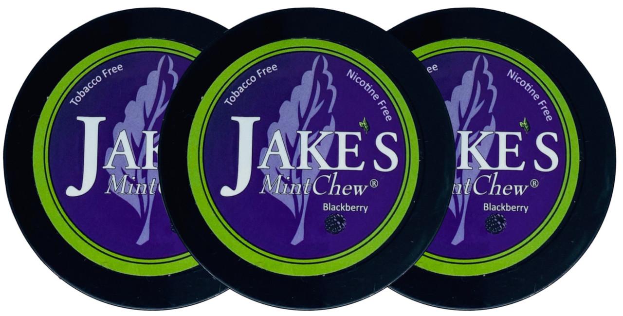 Jake's Mint Herbal Chew Blackberry 3 Cans