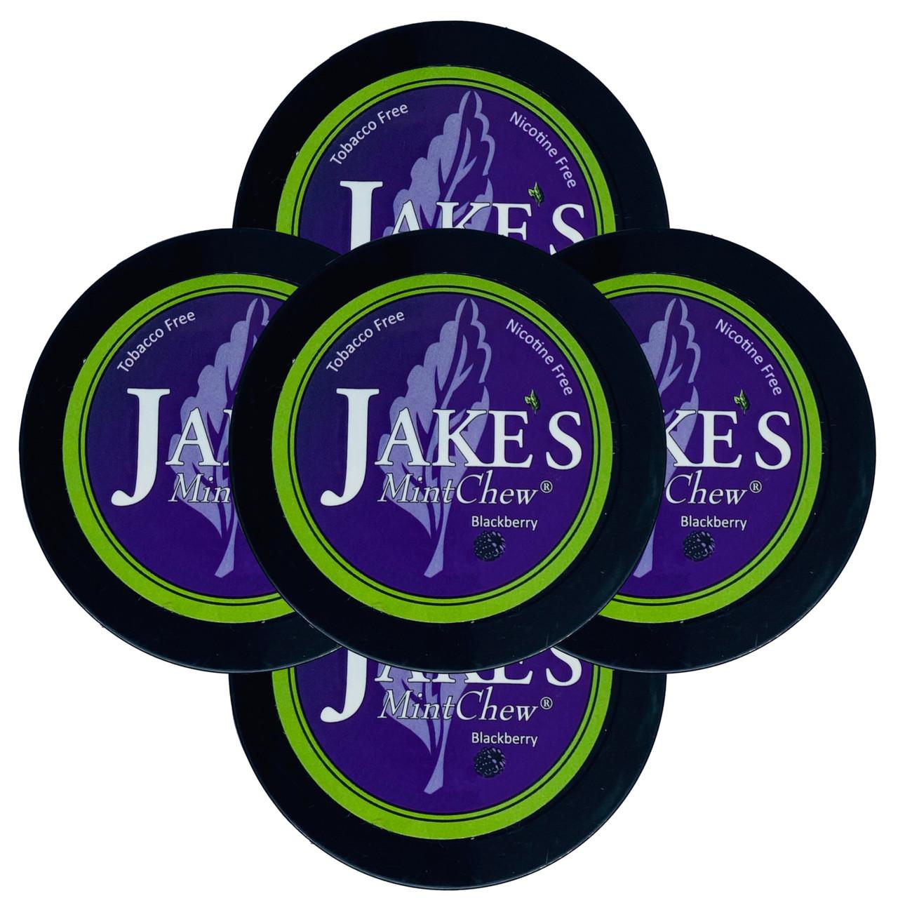 Jake's Mint Herbal Chew Blackberry 5 Cans