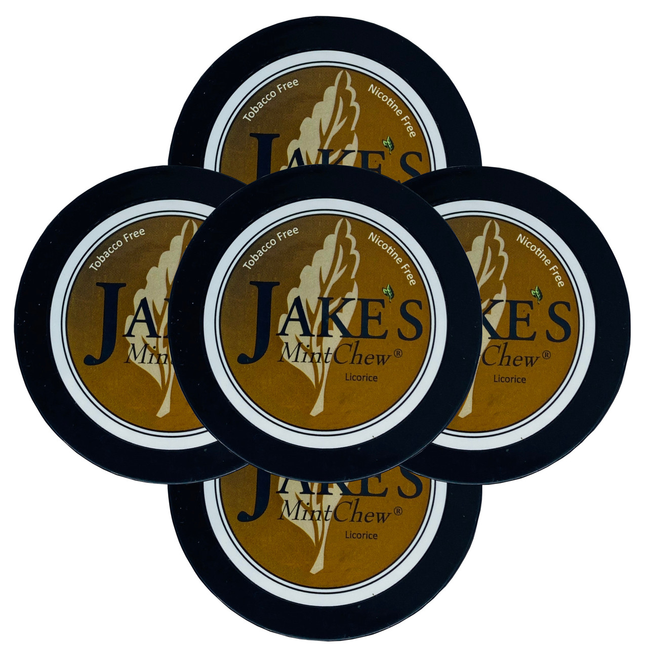 Jake's Mint Herbal Chew Licorice 5 Cans