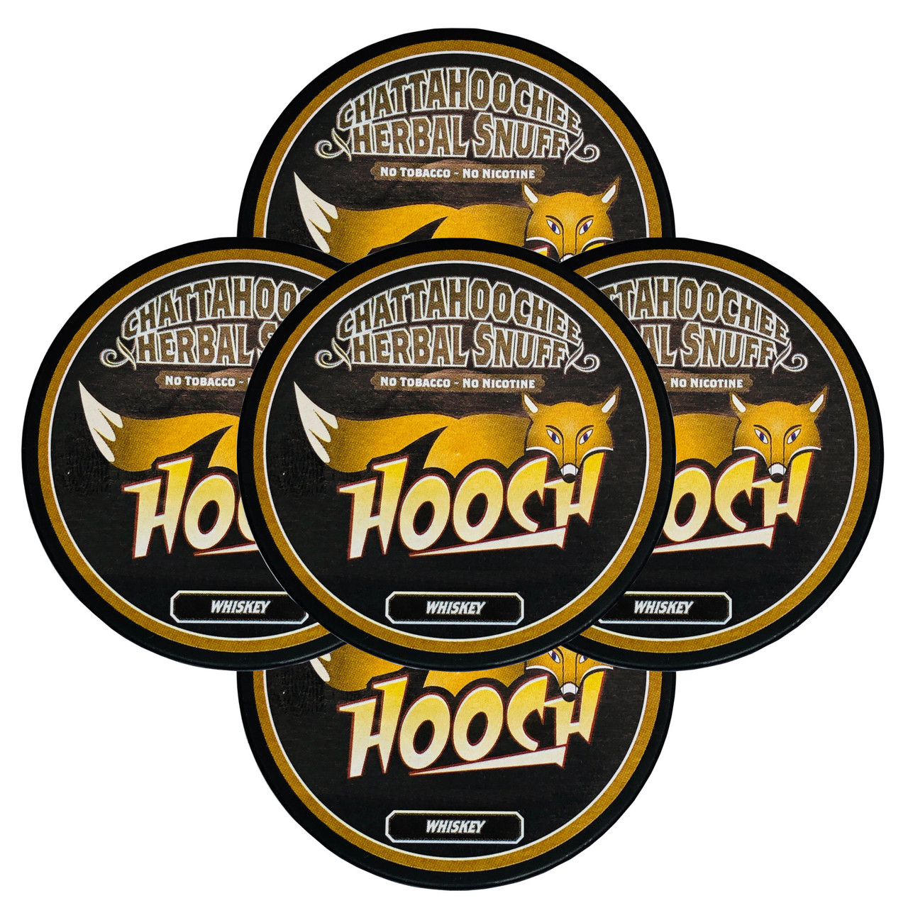 Hooch Herbal Snuff 5 Cans Whiskey