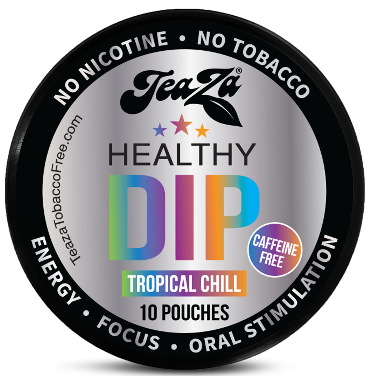 Teaza Energy Dip Pouches Tropical Chill 1 Can