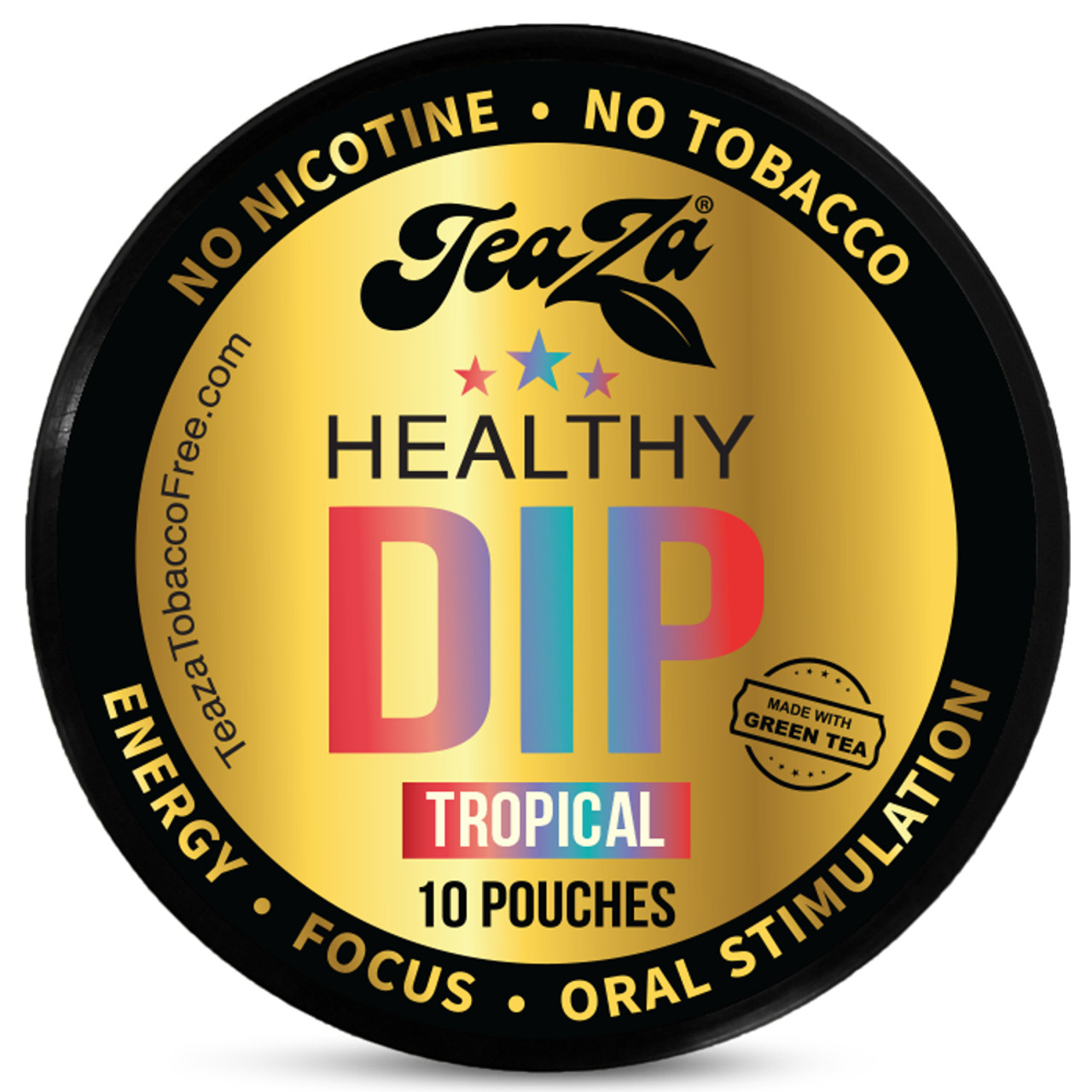 Teaza Energy Dip Pouches Tropical 1 Can