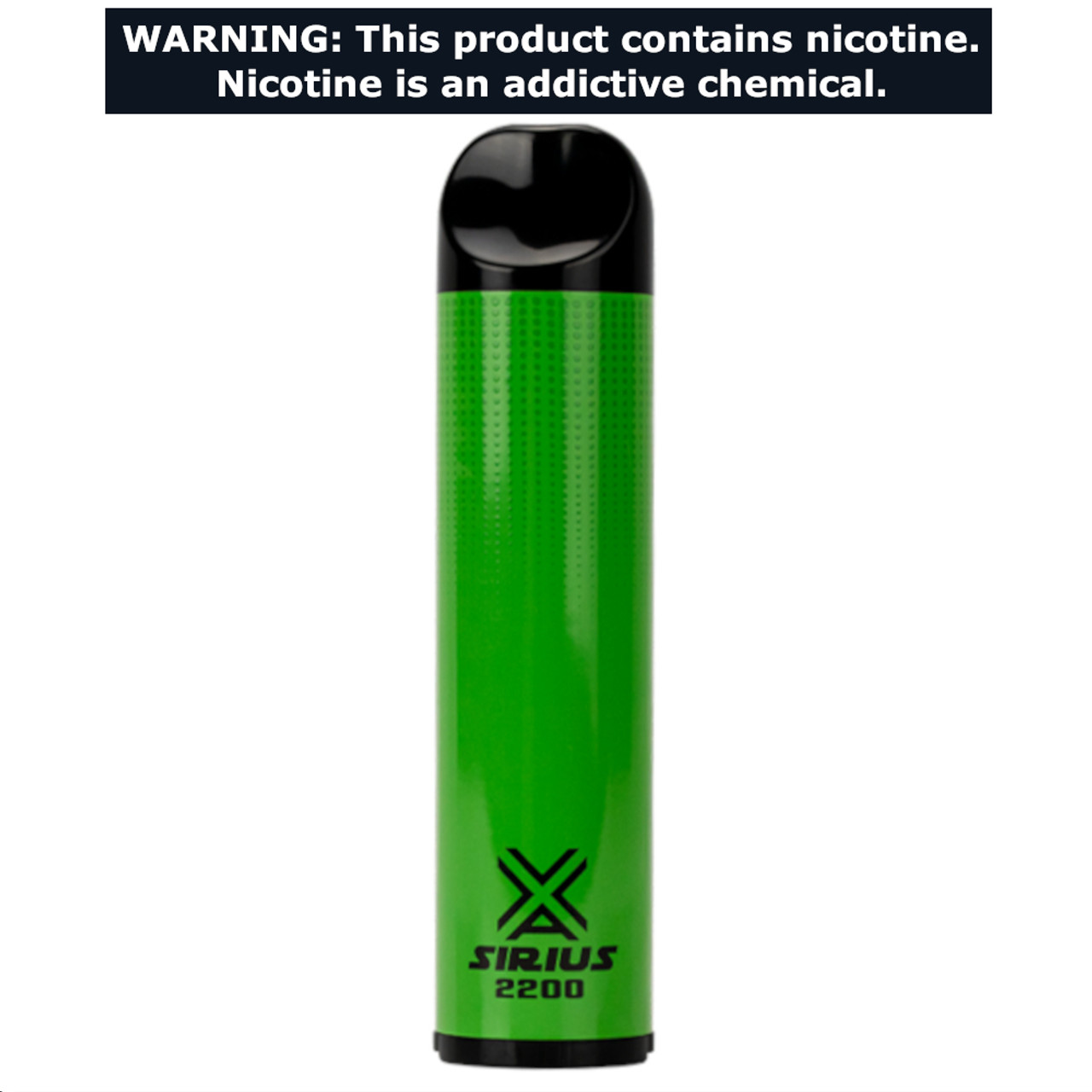 VaporLax Vape Sirius 2200 Flavored Disposables Cool Mint