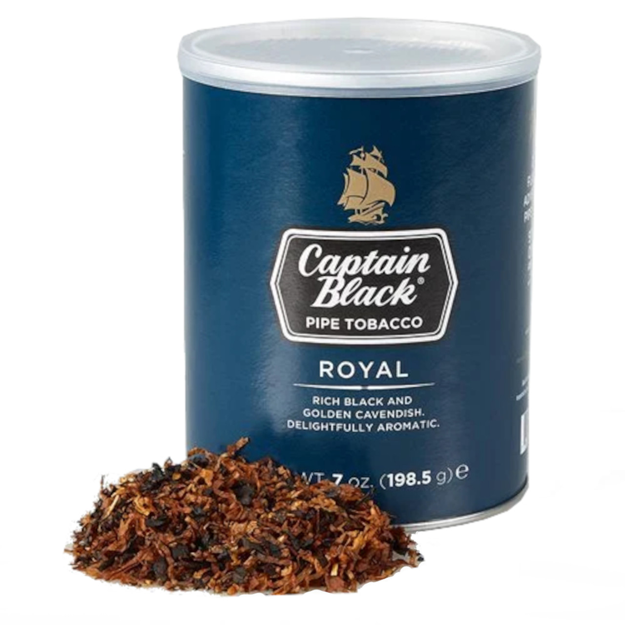 Captain Black Royal Pipe Tobacco 7 OZ TIN