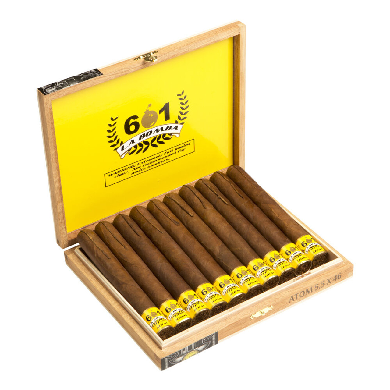 601 La Bomba Atomic Cigars - 6 x 60 (Box of 10)