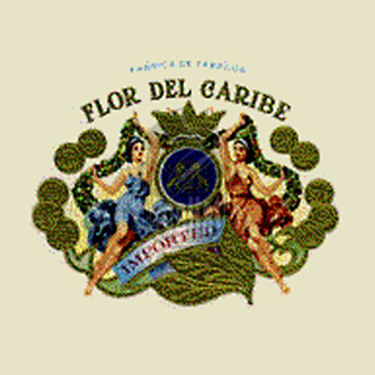Flor Del Caribe St. Thomas Pyramid Maduro Cigars - 6 x 54 (Box of 20)