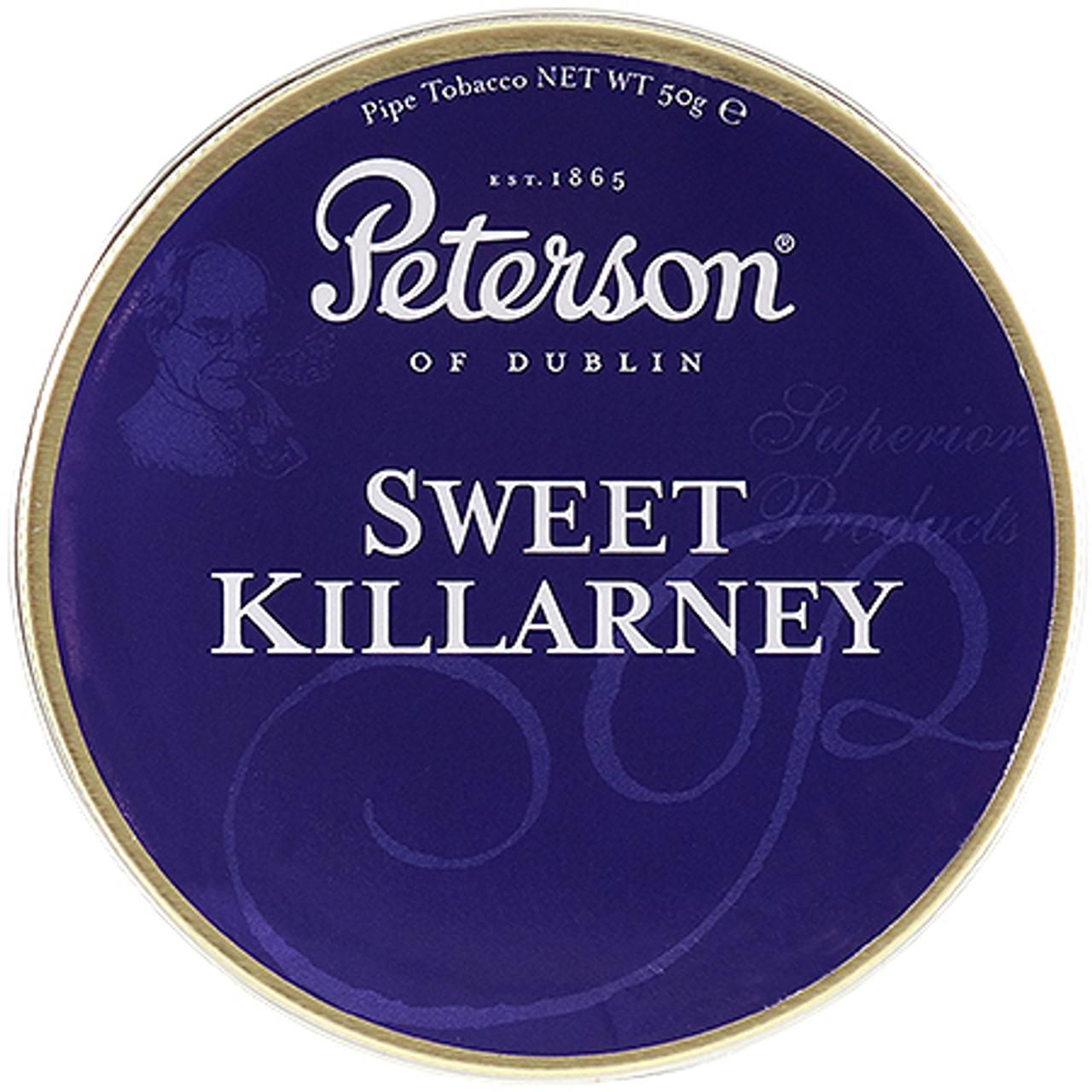 Peterson Sweet Killarney Pipe Tobacco | 1.75 OZ TIN