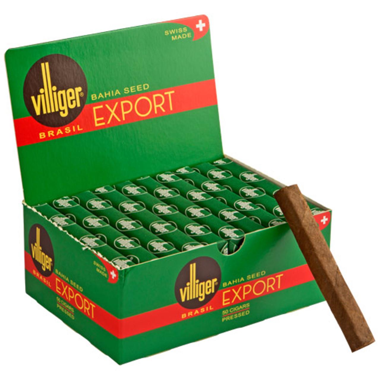 Villiger Export Brazil Cigars (Box of 50) - EMS
