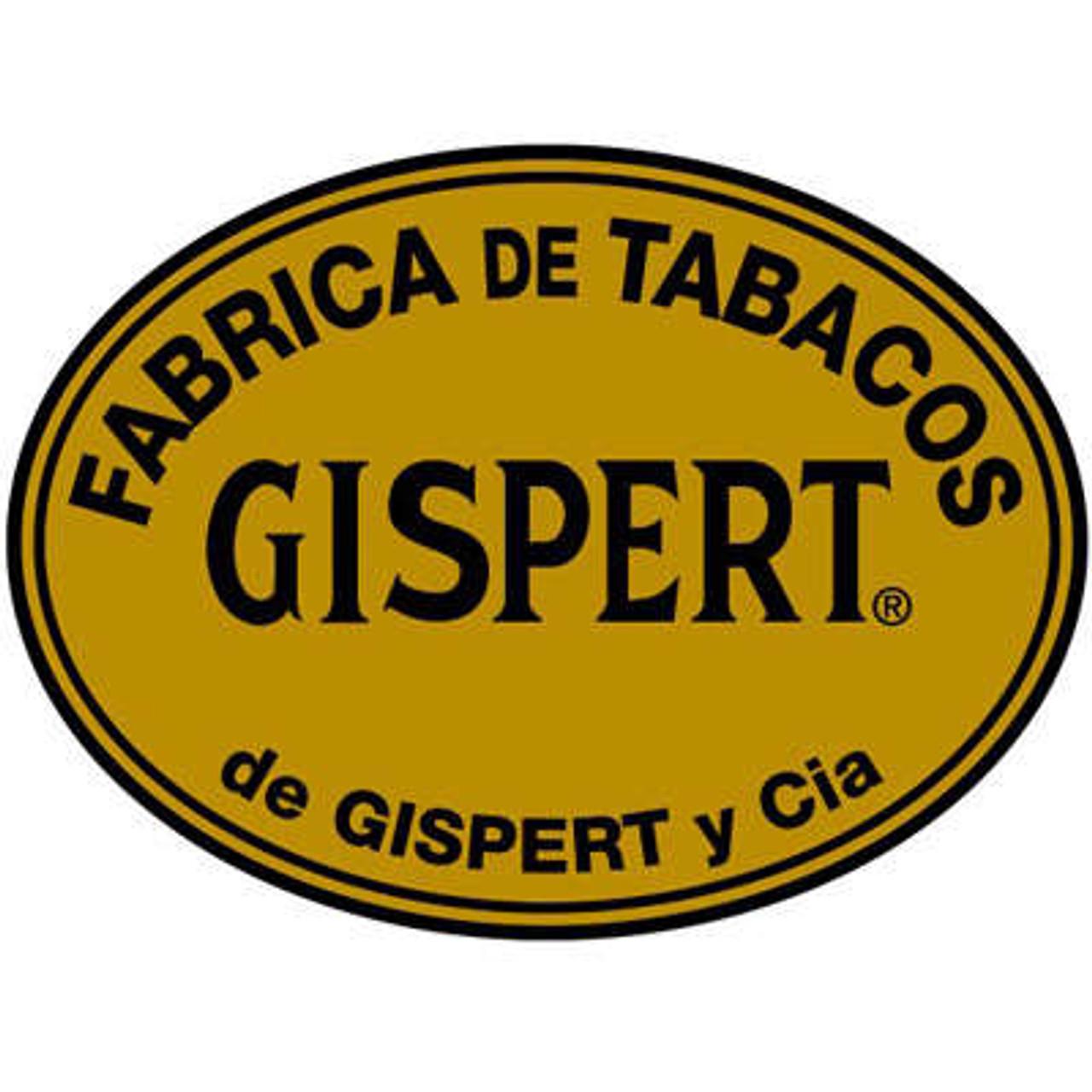 Gispert Robusto Natural Cigars - 5 x 54 (Box of 25)