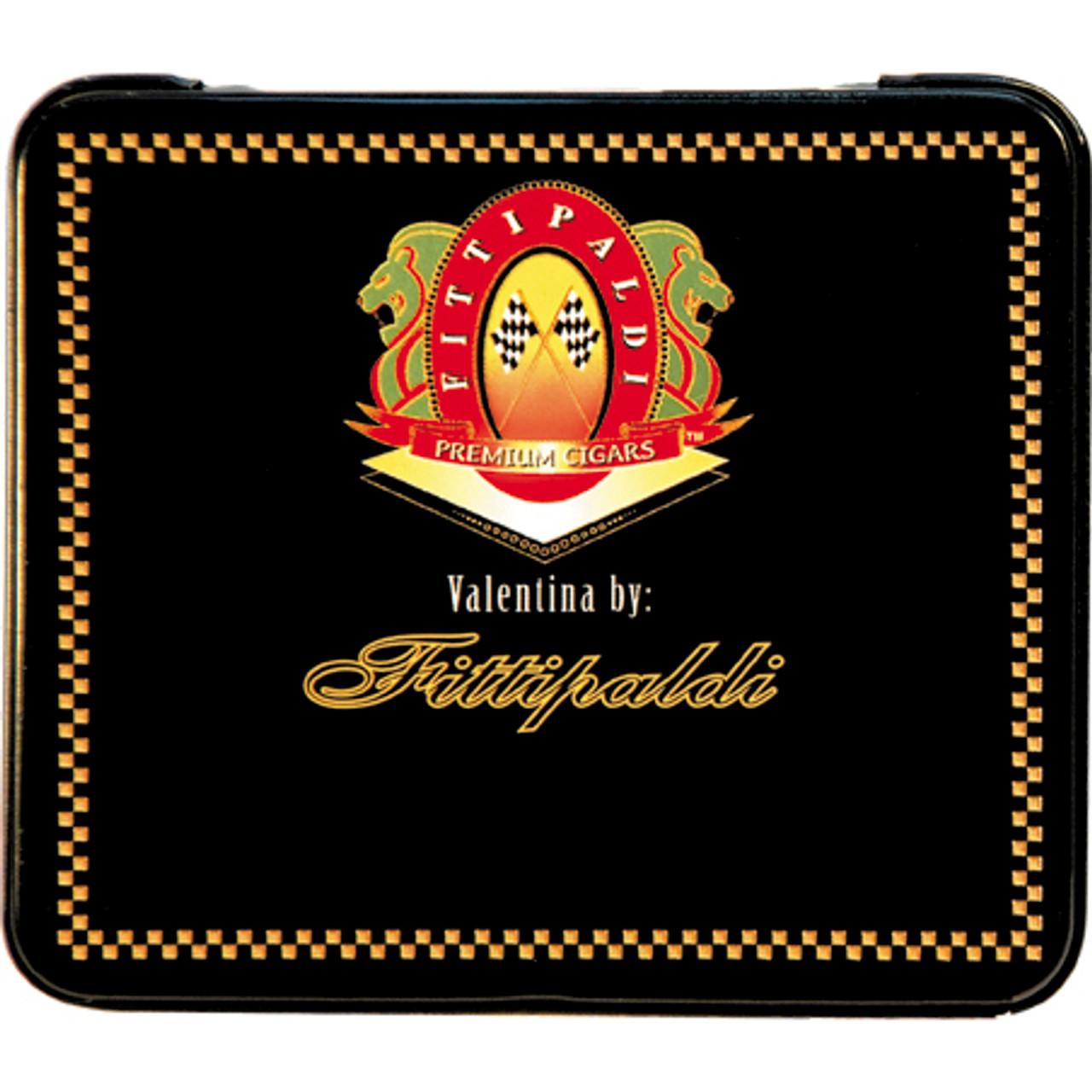 Fittipaldi Valentina Vanilla Cigars - 3 3/8 x 22 (5 Tins of 13)
