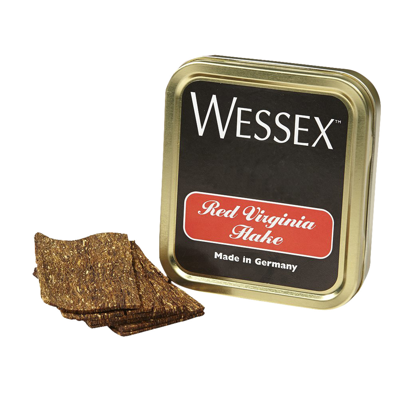 Wessex Red Virginia Flake Pipe Tobacco | 1.75 OZ TIN
