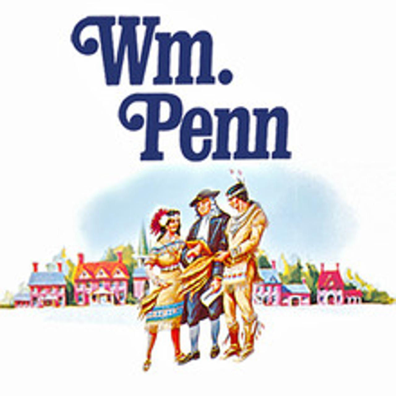William Penn Panetela Cigars (10 Packs Of 5) - Natural