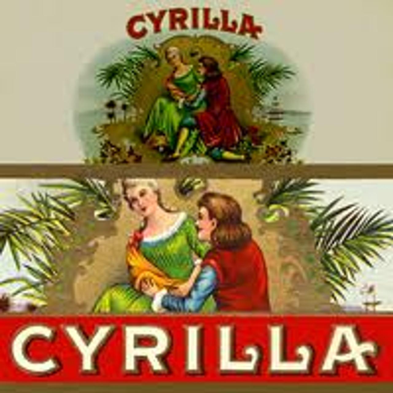 Cyrilla Nationals Natural Cigars - 6 x 42 (Box of 25)