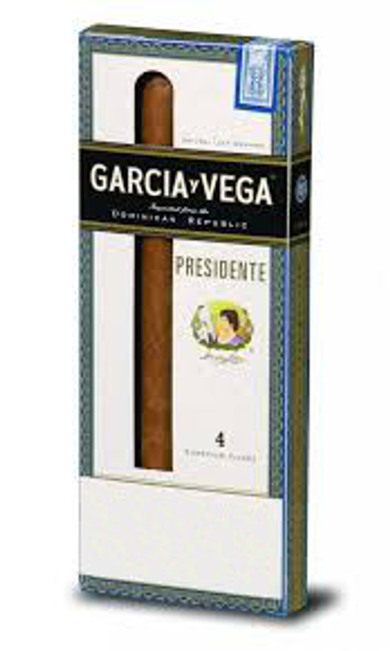 Garcia Y Vega President Cigars (5 Packs Of 4) - Natural