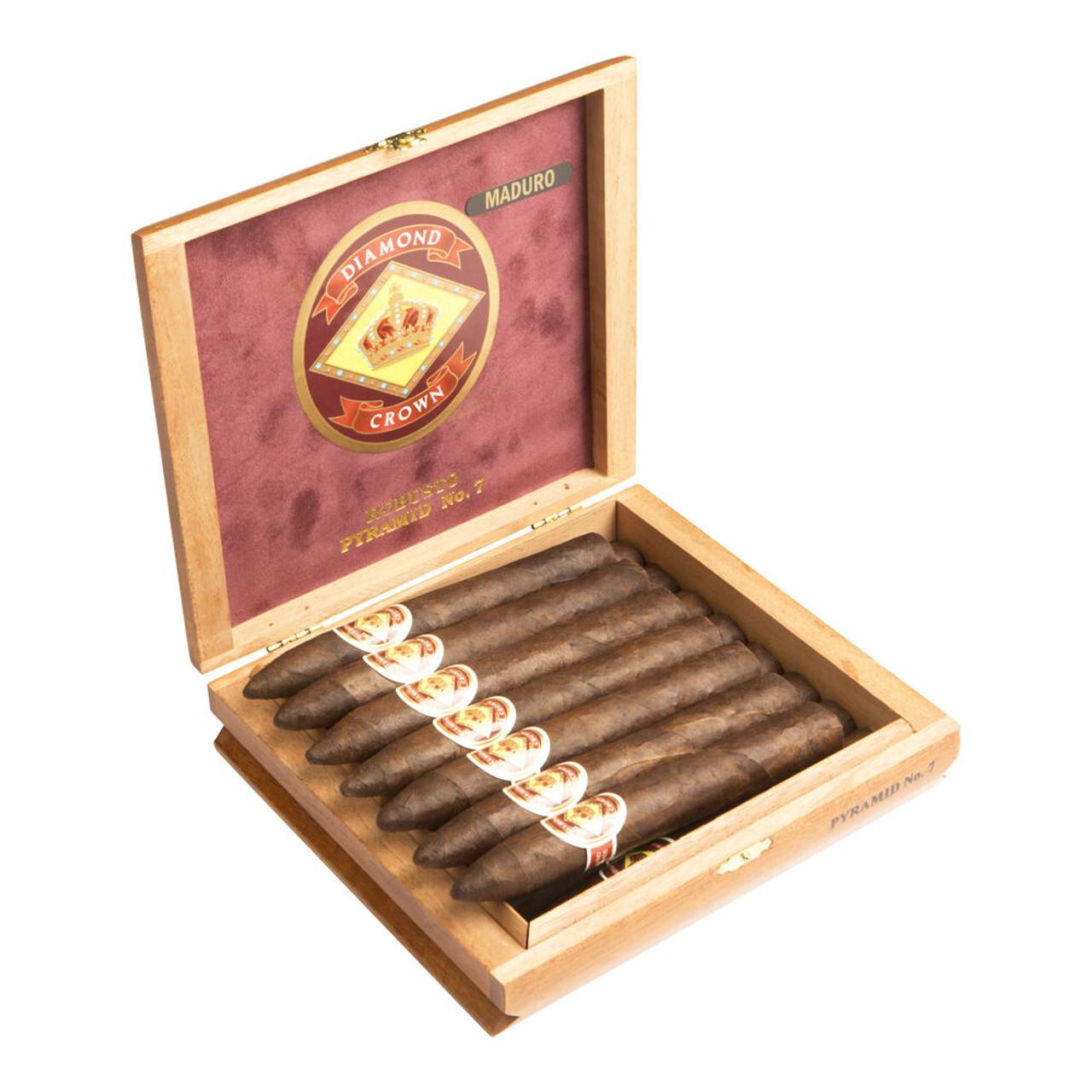 Diamond Crown Figurado No. 6 Cigars - 6 x 64 (Box of 15)