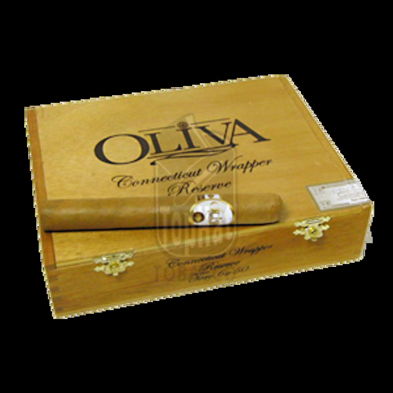 Oliva Connecticut Reserve Toro Cigars - 6 x 50 (Box of 20)