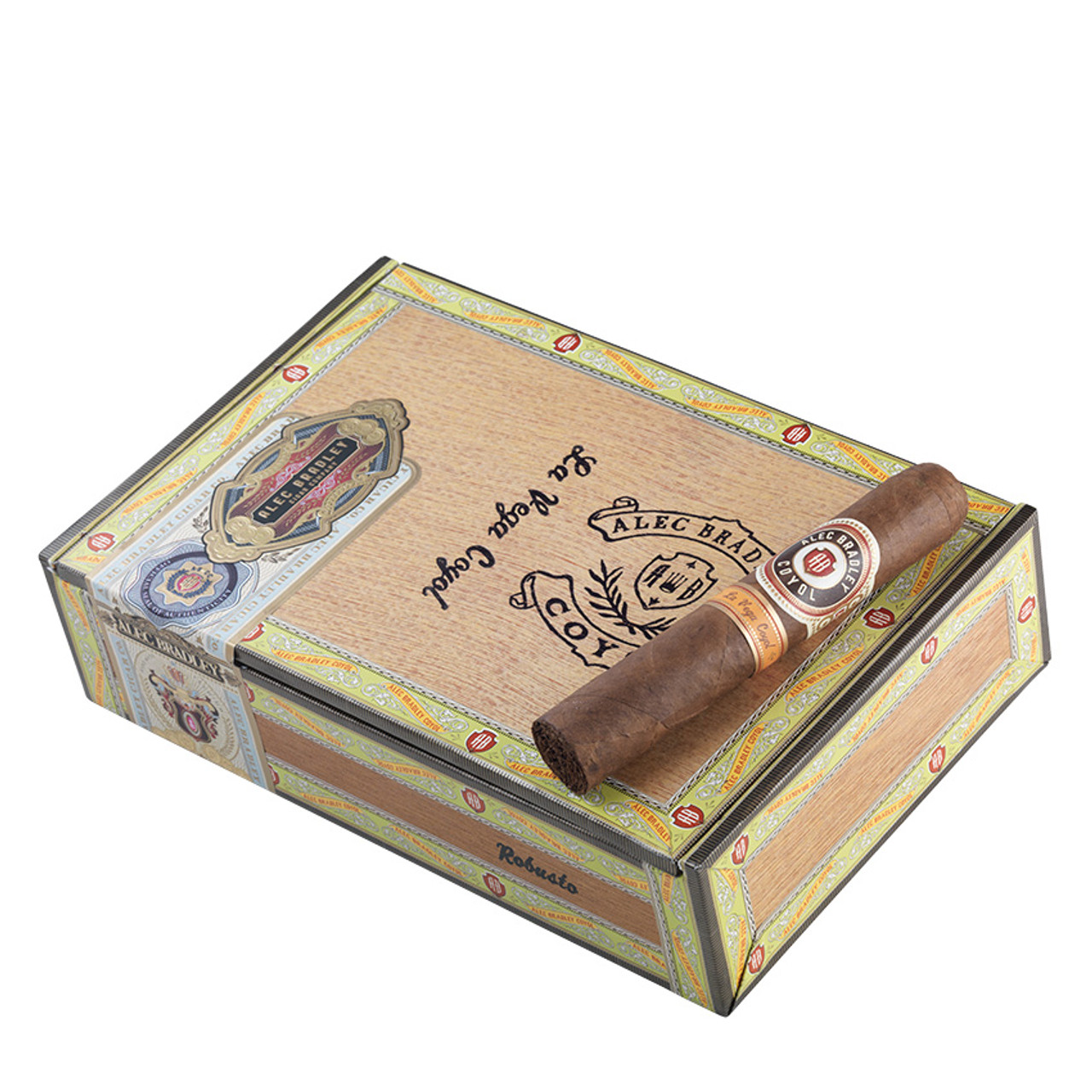 Alec Bradley Coyol Robusto Cigars - 5 x 52 (Box of 20)
