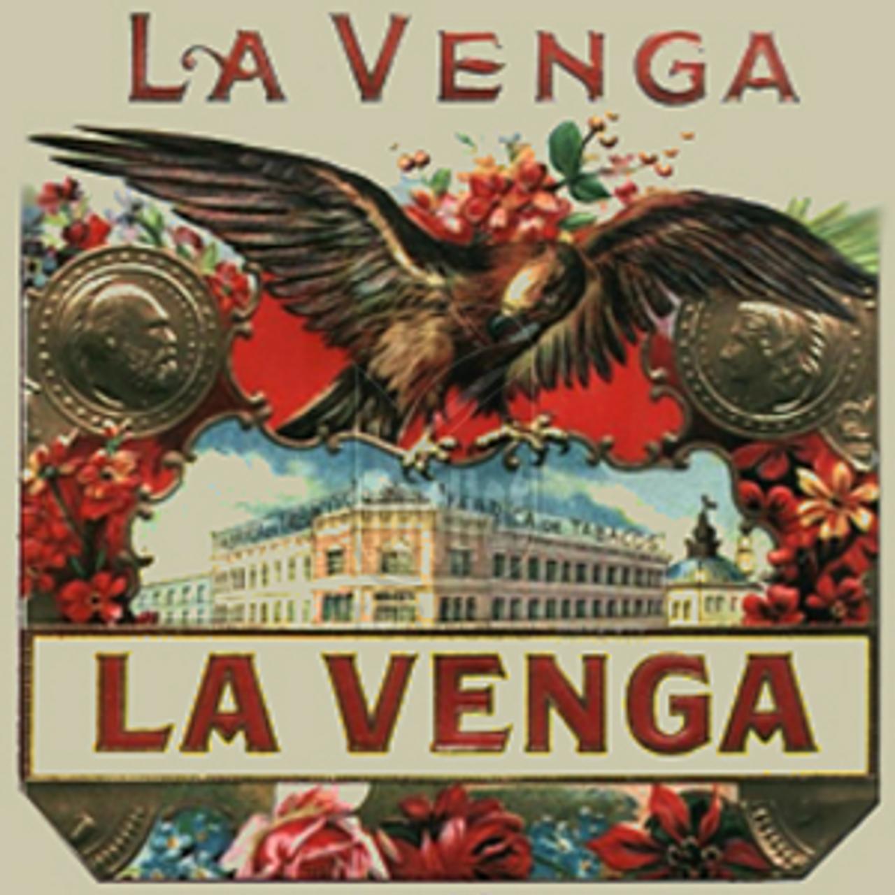 La Venga No.10 Maduro Cigars - 5 1/2 x 52 (Bundle of 20)