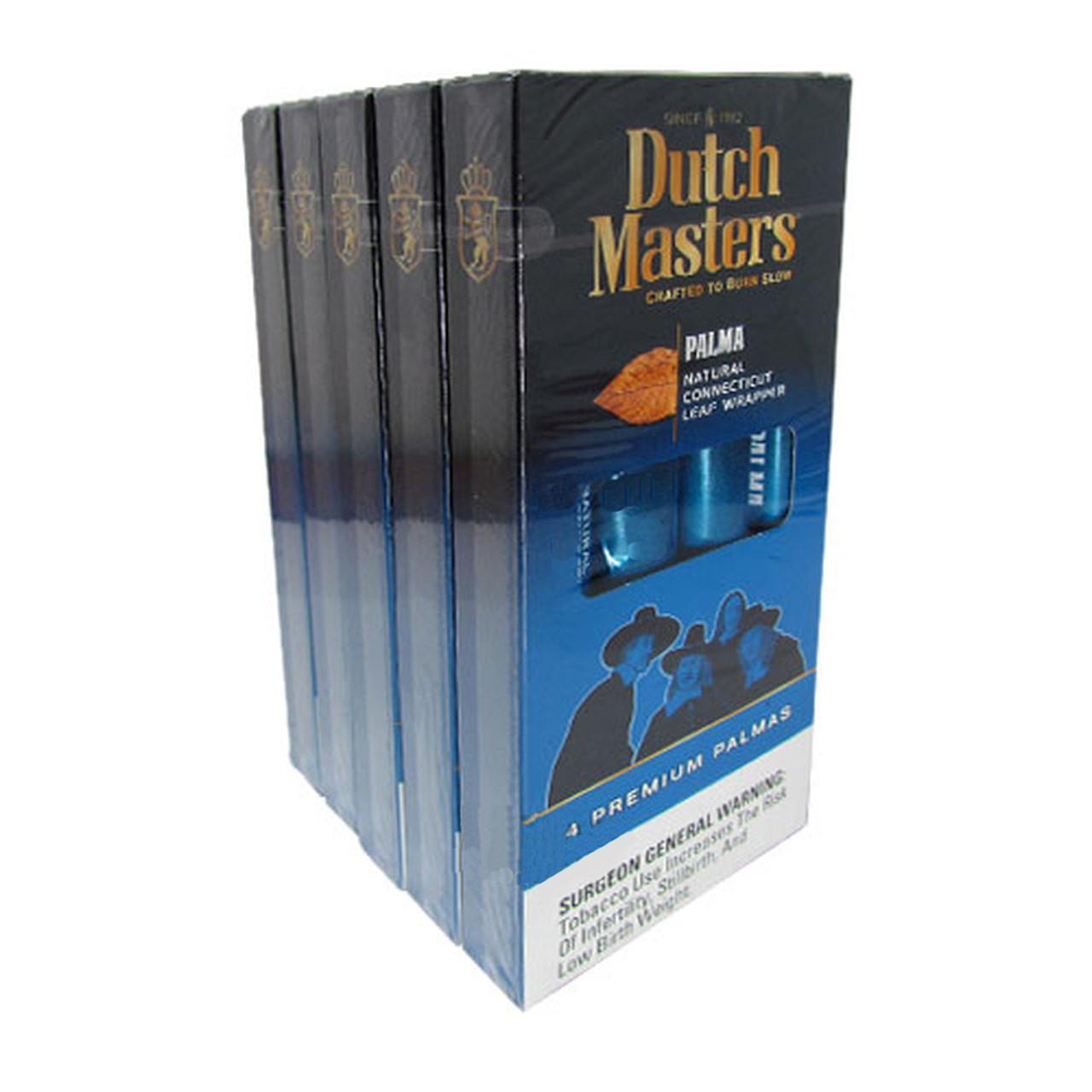 Dutch Masters Palma Cigars (5 Packs Of 4) - Natural