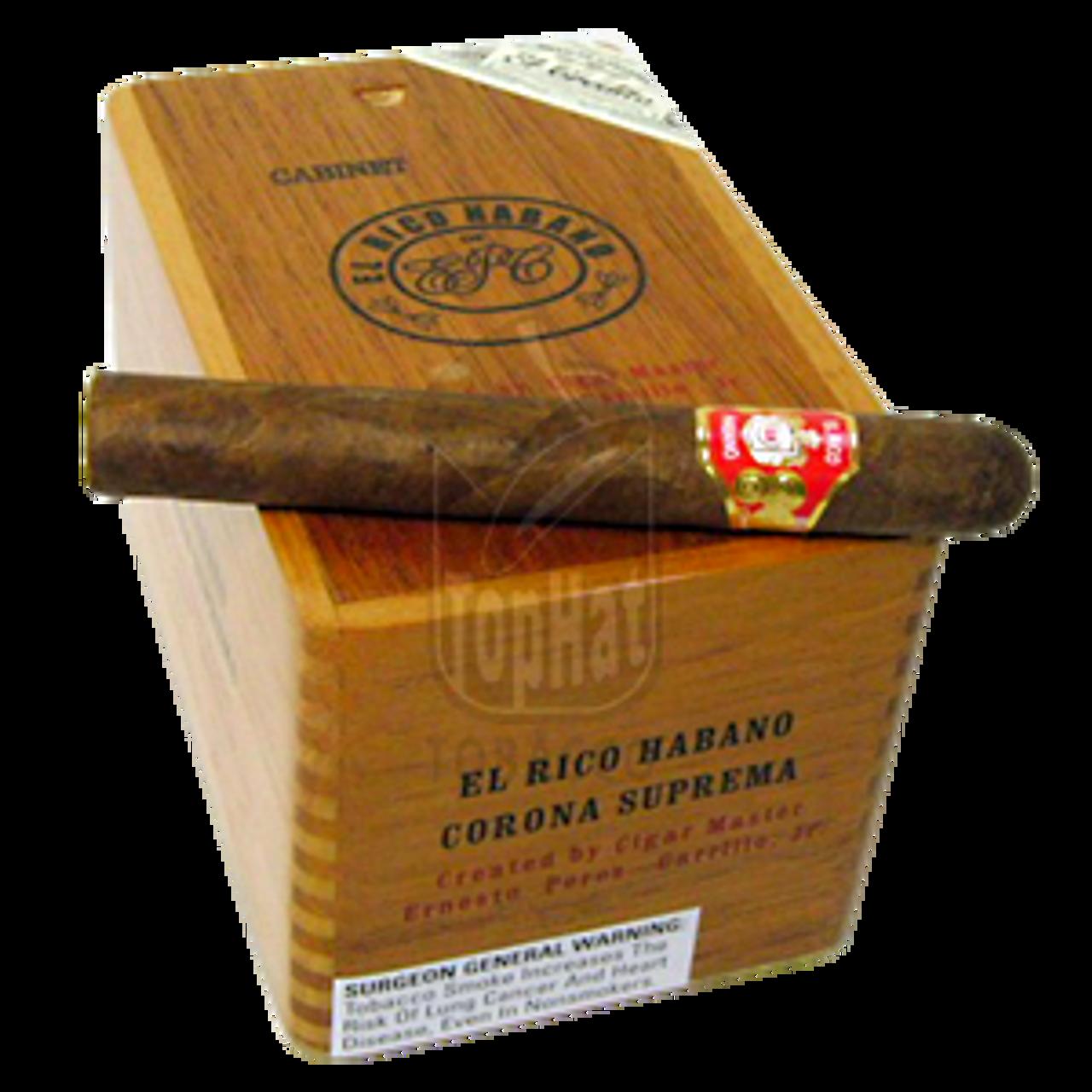 El Rico Habano Corona Suprema Cigars - 6 x 50 (Box of 25)