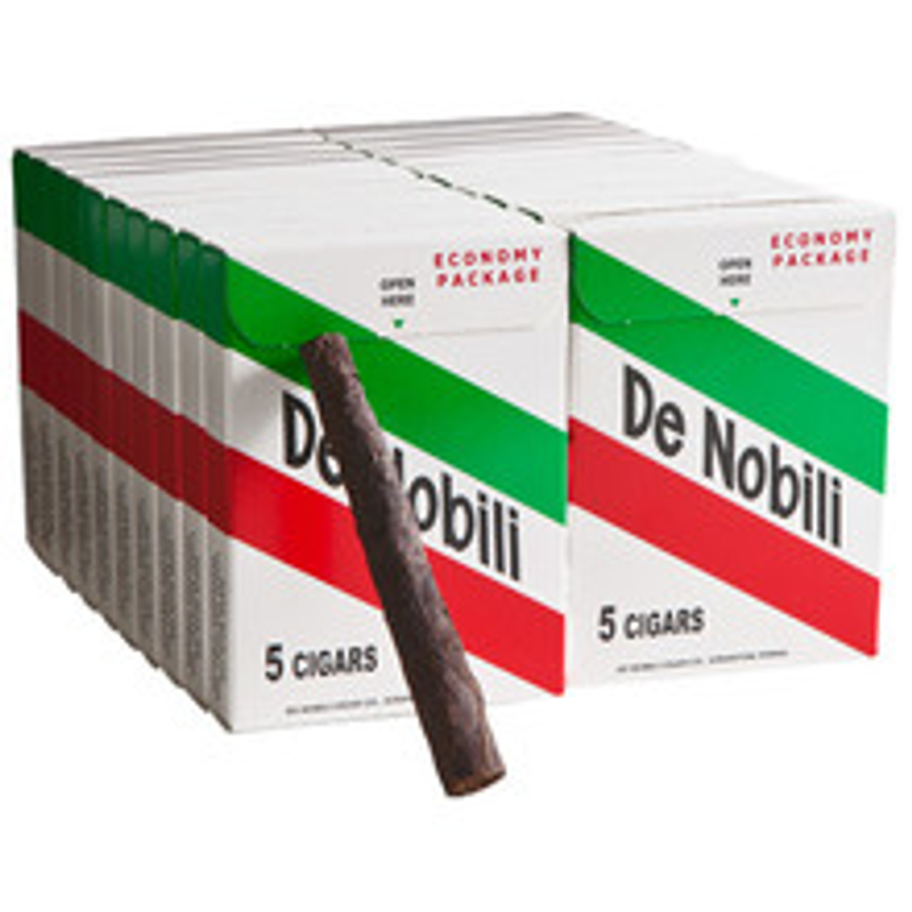 De Nobili Economy Cigars (20 Packs Of 5) - Natural