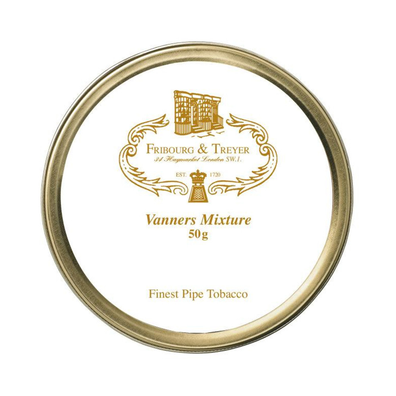 Fribourg & Treyer Vanners Mixture Pipe Tobacco | 1.75 OZ TIN