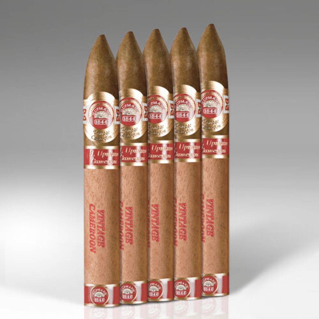 H. Upmann Vintage Cameroon Belicoso Cigars - 6.12 x 52 (Pack of 5)