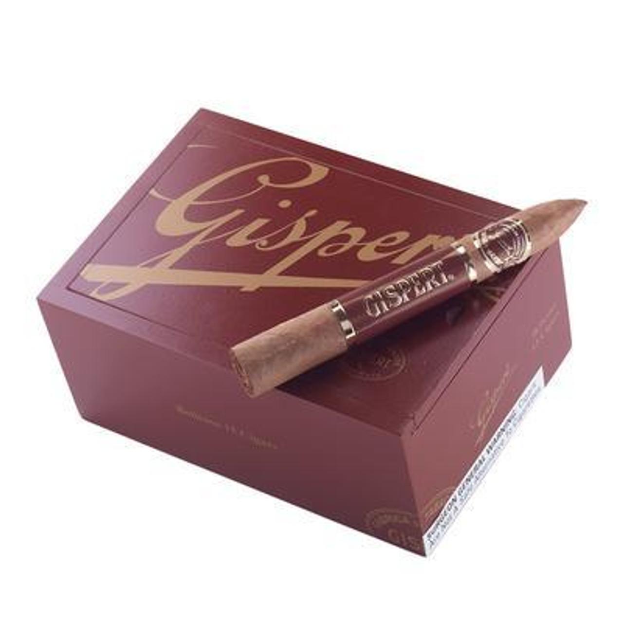 Gispert Belicoso Natural Cigars - 6.12 x 52 (Box of 25)
