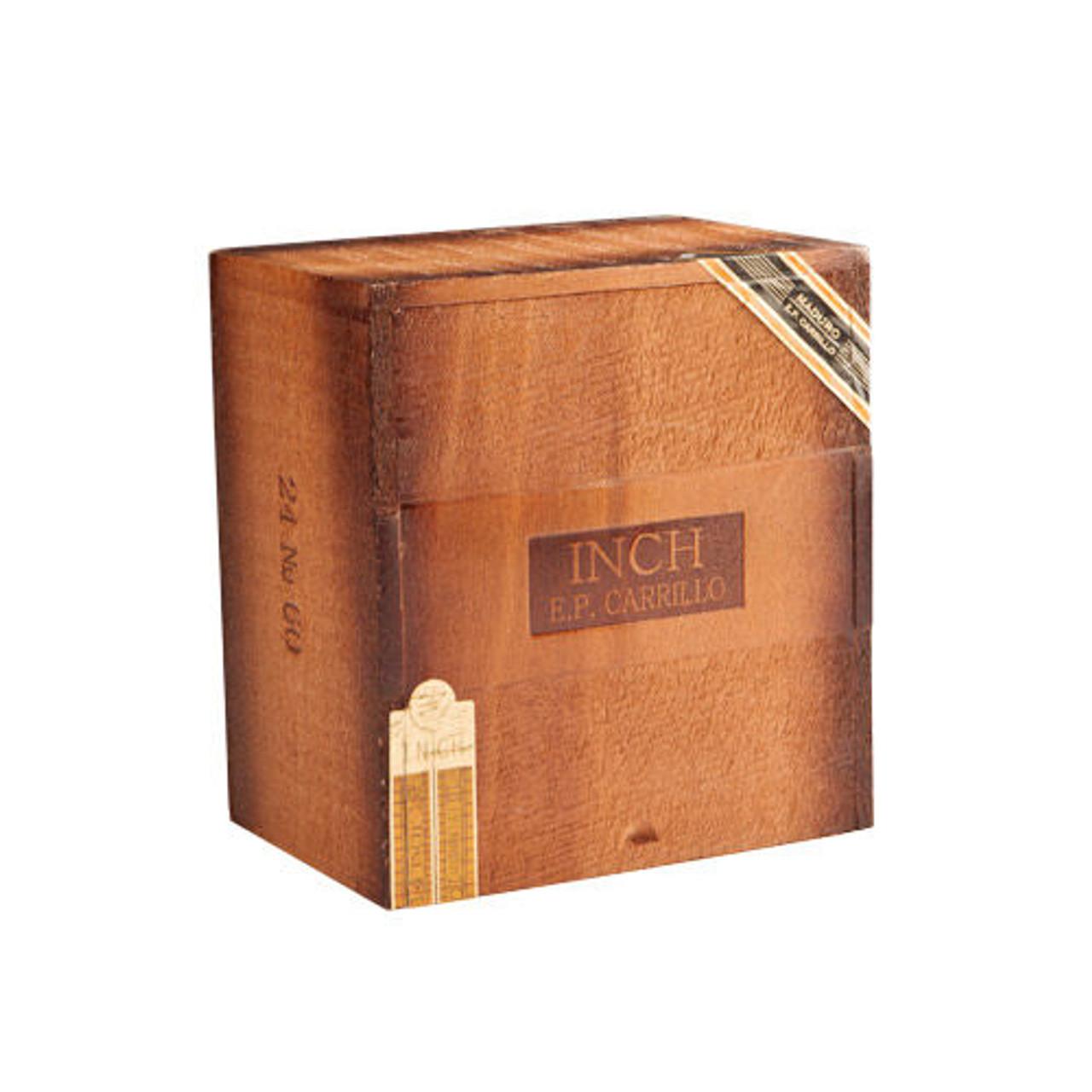 INCH Maduro by E.P. Carrillo No. 60 Cigars - 5.88 x 60 (Box of 24)