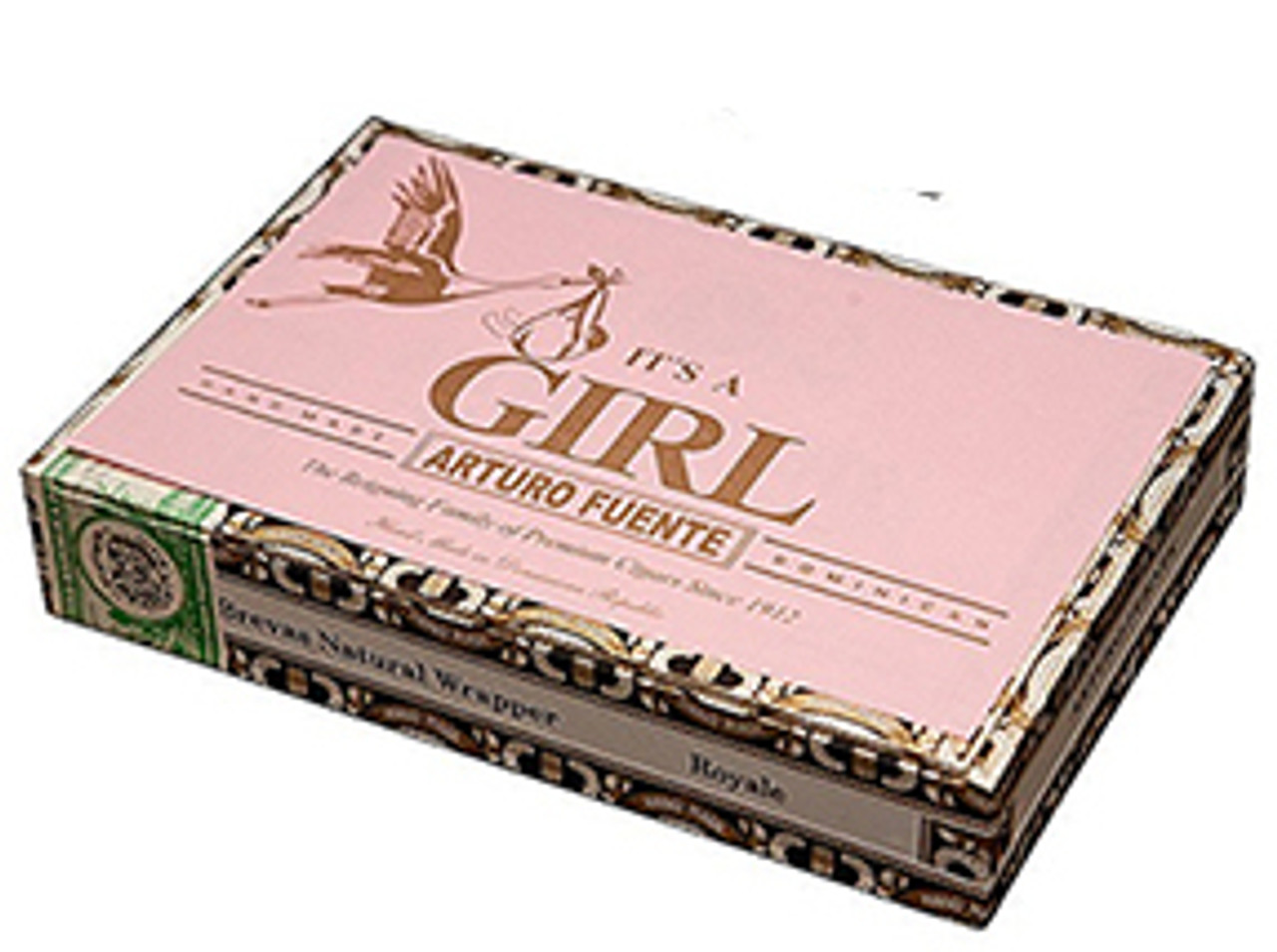 Arturo Fuente Brevas It's A Girl Cigars - 5.50 x 42 (Box of 25)