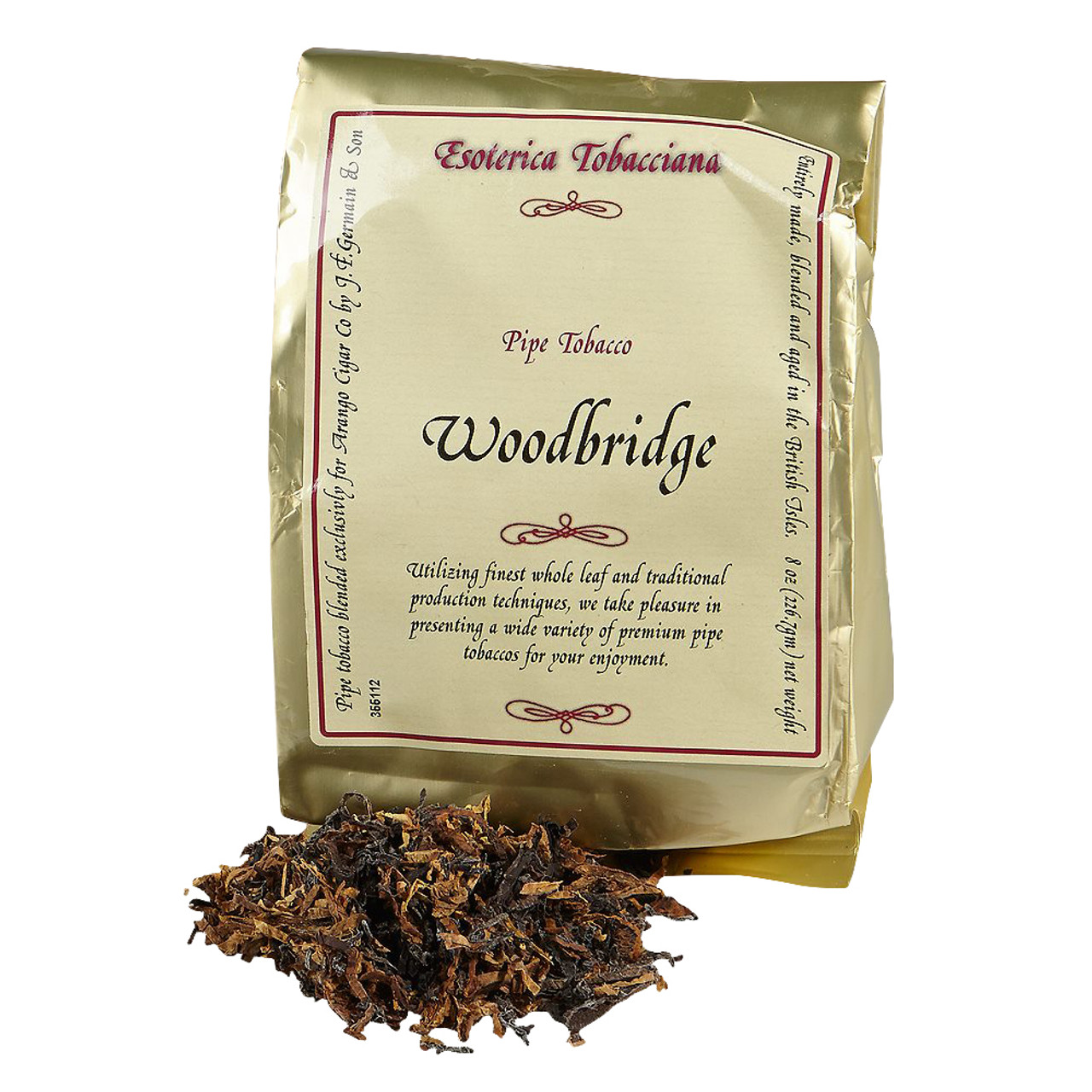 Esoterica Woodbridge Pipe Tobacco | 8 OZ BAG