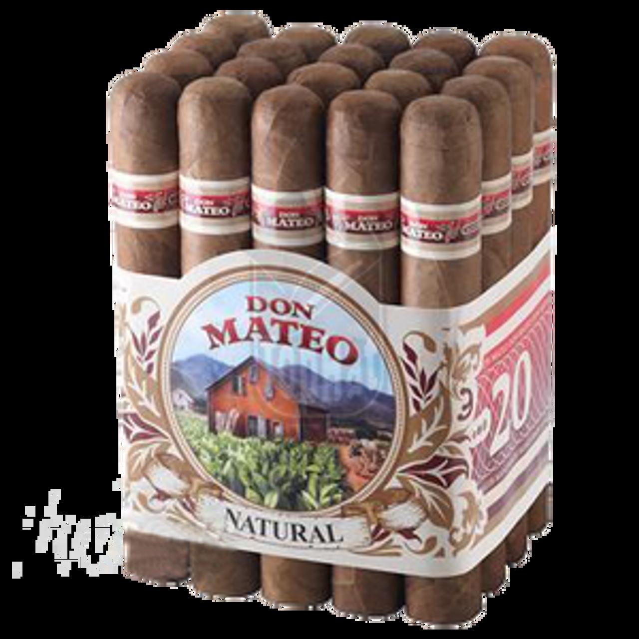 Don Mateo #5 Natural Cigars - 6.62 x 44 (Bundle of 20)