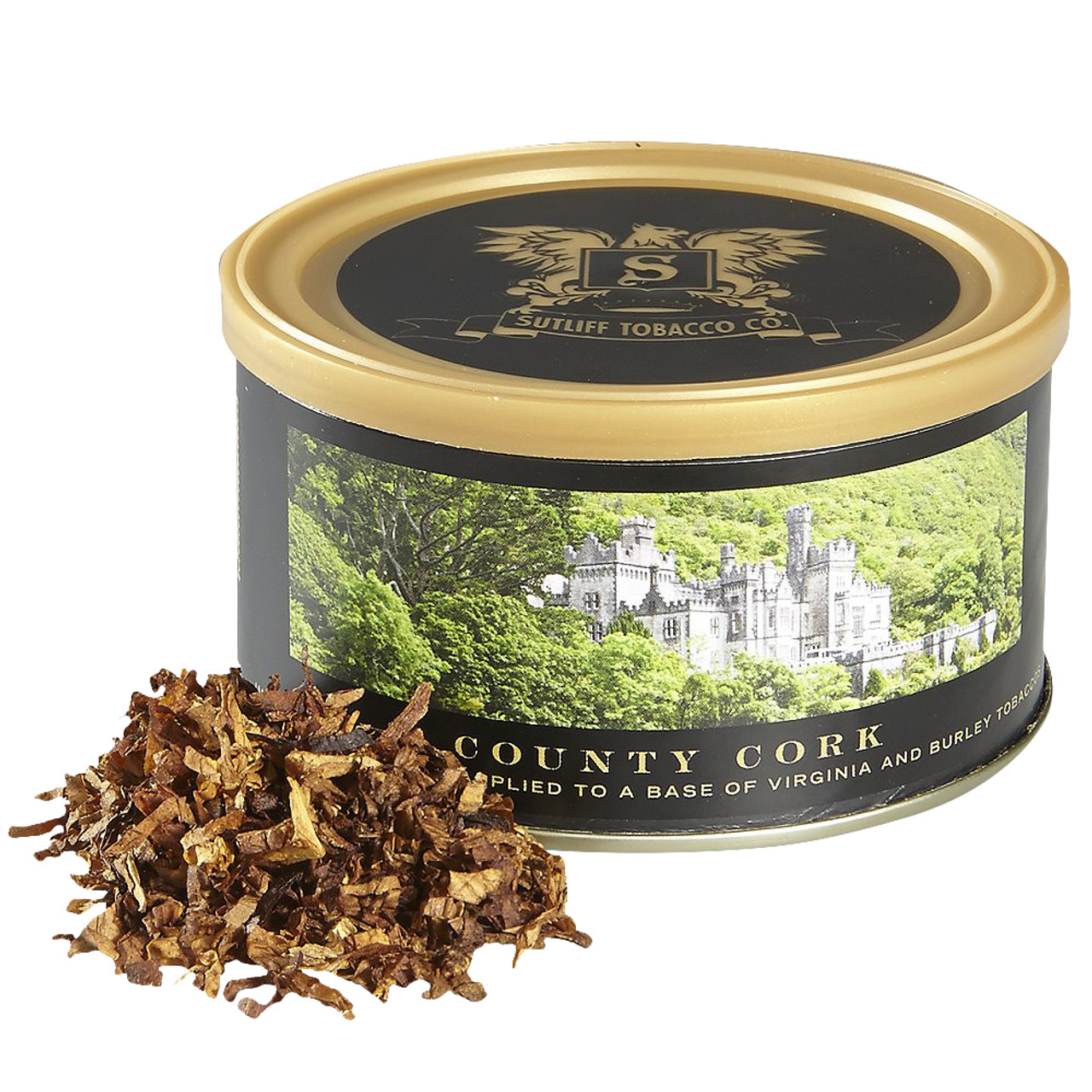 Sutliff Private Stock County Cork Pipe Tobacco | 1.5 OZ TIN
