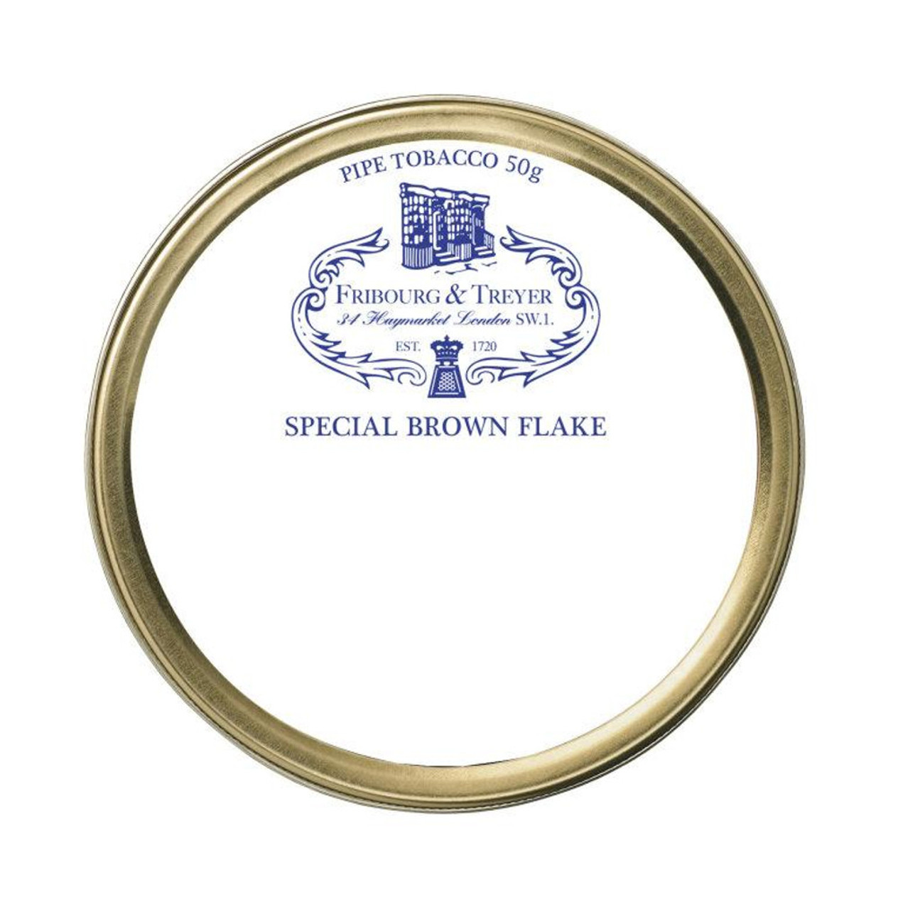 Fribourg & Treyer Special Brown Flake Pipe Tobacco | 1.75 OZ TIN