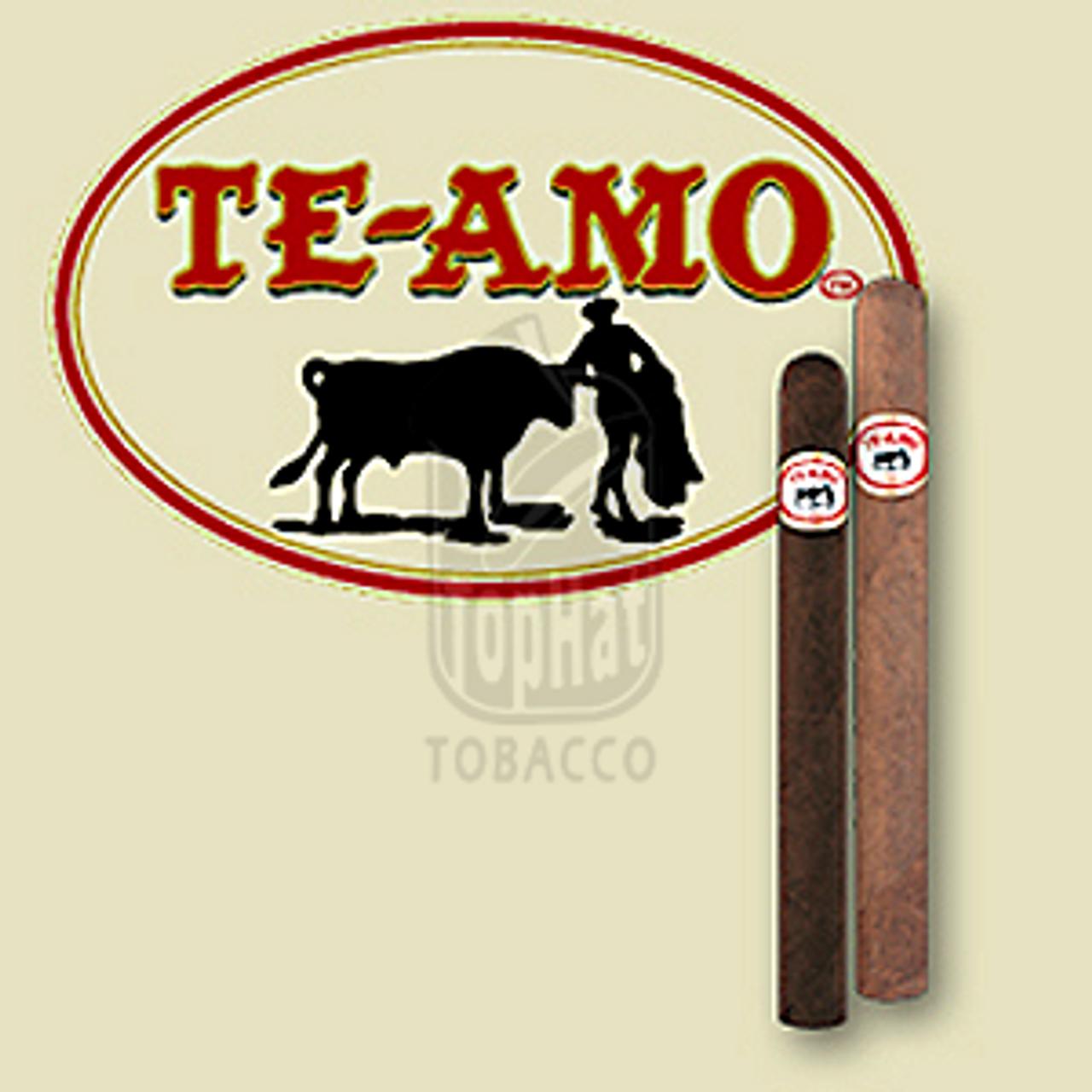Te-Amo Robusto Natural Cigars - 5 1/2 x 54 (Box of 25)